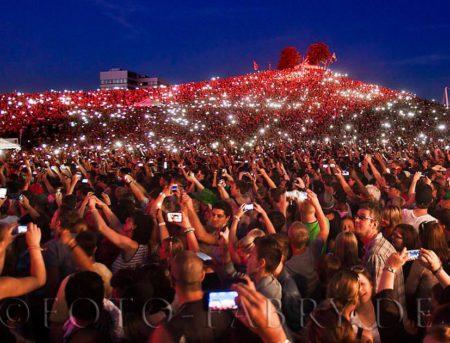 Tausende Besucher